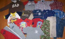 -Gap hoody, 2t, EUC -Old Navy sweats, 2t, EUC -Old Navy sweats, 3t, GUC -Old Navy hoody 3t, EUC -Old Navy button shirt, 2t, EUC -Old Navy button shirt, 2t, EUC -Old Navy polo, 2t, EUC -Old Navy shirt, 2t, EUC -Old Navy jeans 2t, EUC -Old Navy jeans, 2t,