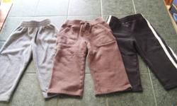 Boys 24 month Childrens Place & Gymboree Sweats All in Excellent Condition No stains, rips, tears or worn knees From a Clean, non smoking home $3.00 each