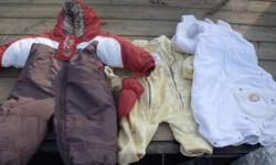 Lots of nice, good quality baby boy clothes for sale. Jeans $3 Shirts $2 (mostly button ups, was never a fan of pictured clothing) Knit Sweaters $3 1 piece snow suit $15 was only worn once or twice, in brand new condition but less then half the price 1