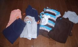 Super cute boys clothing in Sizes 12-18 months!  Brand names include Osh Kosh, Carter, Gap, Old Navy, Joe, Children's Place, Please Mum, and more!  All from a smoke/pet free home.  Asking $ 55.