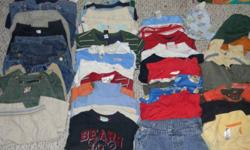 We have 3 boxes of boys clothes sizes 12-24 months. We are looking for 25.00 a box.