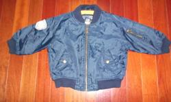 Excellent Condition!! Boys size 3 spring/fall jacket. Navy in color and no stains or rips. Lots of pockets including one on the inside. Non-smoker & no pets. Located in Waterdown. Call Lisa at (905) 689-1410 or reply to this e-mail.