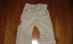 For Sale: Boys Khaki Pants from Old Navy. Size 12 months. Asking $6.00. Contact Laura at 519 680 0835. Please check out my other ads.