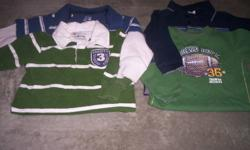 Four boys long-sleeved shirts. Size 24months. All four in really good condition. Asking $5.00 for all four.