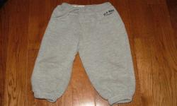 For Sale: Boys Gray Sweat pants from Old Navy. Size 12-18 months. Asking $5.00. Contact Laura at 519 680 0835. Please check out my other ads.