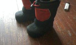 selling 2 pairs of winnter boots great shape only wore maybe 5 times each not even ,both are size 5 .......$5 each ...first come first serve ,to many no shows CHECK OUT MY OTHER ADDS FOR WINNTER STUFF! BOYS AND GIRLS