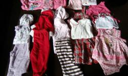 I have for sale a ton of baby girl clothing ranging in size from 3-12 months..All clothing is free from stains and tears and comes from a smoke free home..Most clothing is brand name such as osh kosh, carters, childrens place, old navy, h&m and more.