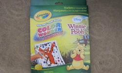 Toy Story Winnie the Poo Planes one blank drawing pad Each comes with coloring book and 6 markers Never been opened. From Pet & Smoke free house