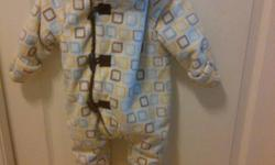 LAST MINUTE CHRISTMAS GIFT- Size 3-6 months, new with tag. Brown inside. From a clean, smoke/pet free home