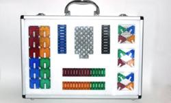 Brand New Magnetix Building Set Up for sale is a brand new Magnetix set by MEGA Brands. This building set comes in a silver metal carrying case with a single handle and a clear plastic cover. Size of metal carrying case: L15½? x W10½? x H2¼? For children