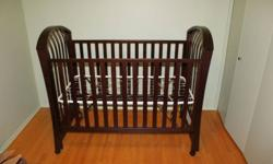 Natart crib purchased at e-children / westcoast kids.  Regular price was $850 but was purchased on sale.  Crib is Brand New, never used has only been set up.  Purchased on sale, but have found a full furniture set for a deal we couldn't pass up so we need