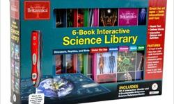 New item. The set includes: 1 SD-X Interactive Reader, a battery-powered pen that reads the words on the book pages and offers audio content such as facts, sound effects, and cross-references to other pages in the book. 6 fact-filled science books from