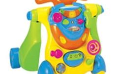 Bruin Deluxe baby toy forsale for baby 9 months plus retails for $69.99 from Babies-R-Us asking $35.00 lights up and makes noises can be used as a walk toy and ride along toy is in excellent condition