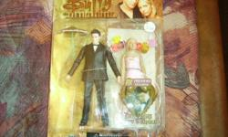 "These are 2 Buffy the Vampire Slayer Action Figures in one package;  this is a Preview Exclusive ""The Prom"" Buffy and Angel Action Figures.  Brand New in Package.  Asking $12.00.  Local Pickup Only On These Items.  Please use the View Posters Other Ads"