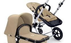 We have a Bugaboo Cameleon stroller for sale. We have used this for 2 years and it is in as new condition. The base color is Sand with the tailored fabric cover in off white. This has been cared for and kept in pristine condition and it will defiantly