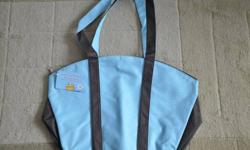 """Various Build-A-Bear Workshop Bags   Most of the bags listed were only available for BABW Managers and they are all new/never used   Blue and Brown Shoulder Bag (17"""" W x 12"""" H) - $10.00   Blue School Shoulder Bag (11"""" H x 12"""" W) - $10.00   Red Shoulder"""