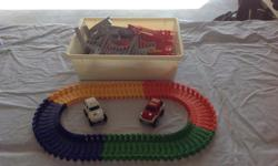 Track components are in excellent conditions and the trucks have some visible wear. Original price was $40; asking $15.
