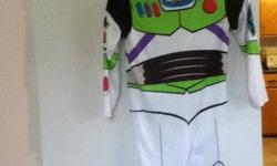 Buzz Lightyear - costume. Needs some sewing around the collar at the bottom of purple pull on helmet. An Easy Fix. Serious inquiries leave number & I?ll call you ASAP.