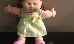 I have a beautiful cabbage patch doll for sale.