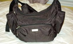 Less than 2 years old and in excellent condition. Nothing wrong with it! Sport Hobo by California Innovations is an expandable, light weight diaper bag. It can be challenging to venture out with all of your baby's essentials. Our diaper bags are designed