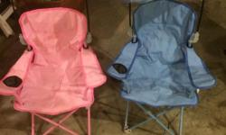 camping chairs 5.00 each or all 4 for 15 bucks.
