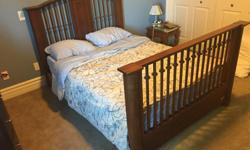 Capretti solid maple wood convertible children's bed. Converts from a crib (not drop down style) to a transitional bed to a day bed and finally a full-size double bed with headboard and footboard. Made in the US and original price was $1600. Check out
