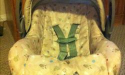 Safety 1st infant car seat, just over 3 yrs old. Great for boy or girl, comes with base and Metal seat belt clip This ad was posted with the Kijiji Classifieds app.