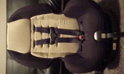 This car seat is in excellent condition. no stains or rips nothing.