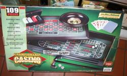 Championship Casino  is available in Booth Ed in the NW corner of the Crossroads Flea Market. Open 7 days a week from 10am to 5pm.