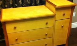 For sale one change table and dresser. Great condition. This ad was posted with the Kijiji Classifieds app.