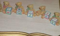 Cherished Teddies all in excellent condition i only have the ones that are posted asking $3 each, please view my other adds Thanks