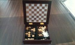 Chess set. $10 This ad was posted with the Kijiji Classifieds app.