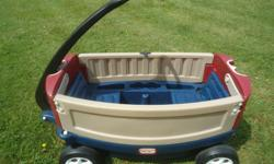 Little Tikes Wagon with Umbrella Excellent Condition