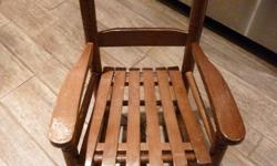 Ideal for baby and toddler All wooden spindle rocker. Price is firm Downtown, Ottawa