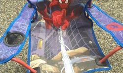 Superman or Dusty Airplane folding lawn chairs good condition $5.00 each