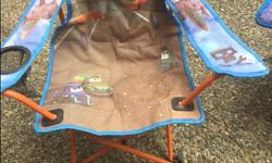 Spider Man or Dusty Airplane design child's folding lawn chairs $8.00 each