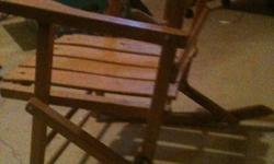 CHILD'S ROCKING CHAIR 20 INCHES HIGH