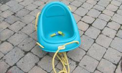 Child swing chair. Can be used on any swing sets.