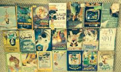 Various soft cover books for the young reader. $1 each or take all 21 books for $12.