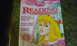 Children's Books - Learn to Read / Disney Princess Reading Comprehension 29 Full Color Pages Reading for Understanding Made Fun Sharpen Basic Reading Skills Engaging Activities A Delightful Disney Princess Character on Every Page Please look at my other