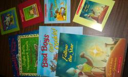 read the books and listen to the stories 4 christmas stories with 4 matching CD recordings of the stories. great for car rides