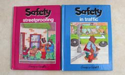 For sale is a set of children's safety books as shown in the pictures. 26 books in all. $10 for the set.