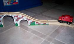 Wood train track-$2    SOLD   Dinosaur-battery operated $5   Mr. Potato Head - $10   Puzzles-23-25 for $8.  Gone through to ensure pieces complete. SOLD