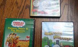 $1 each except for the 6 movie set which is $2. Downsizing daycare toys - check other ads!
