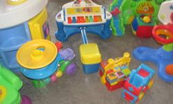 Lots of toys for sale all in working order and clean Little Tikes Kitchen $20.00 obo ***SOLD*** Piano $10.00 obo Ball Popper $5.00 Ball Smasher $5.00 Drop & roll Dino with balls $15.00 Playschool basketball $10.00 Fisher Price Circus blocks(18 blocks) &