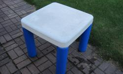 Very Sturdy Childs Plastic Table
