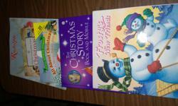 five various children's christmas stories
