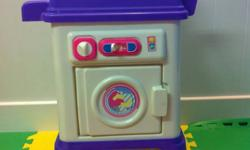 Washer/Dryer Combo $5.00 Fold out Dora Playhouse $25.00 Must Go ASAP!