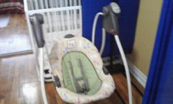 Baby Swing, Graco, good condition, for newborn to 12 month-baby IKEA Crib, white wood, mattress not included, good condition, for newborn to toddler Costco, booster, good condition, for older toddler and up Fish Tank, glass, good condition.... And many
