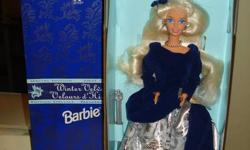 I have some Collector Barbie for sale they are in mint-excellent condition and are in the original boxes (nrfb) I am selling them at various prices theses prices are negotiable as no reasonable offer will be refused Mariposa Fairy Barbie and fairytopia